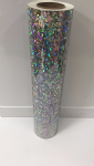 Smashed Glass Confetti Holographic Iridescent